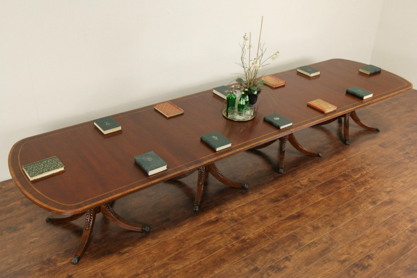 SOLD Councill Unsigned Banded Dining Or Conference Table - Ebay conference table