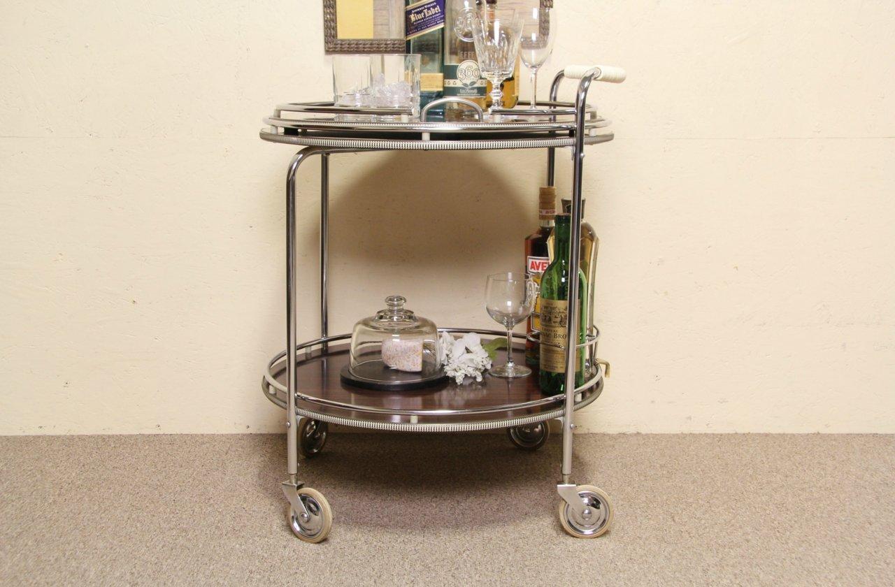Sold Midcentury Modern 1960 S Vintage Beverage Cart Tea