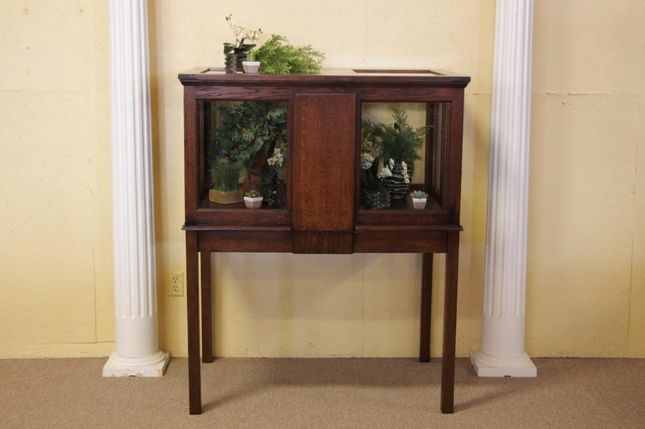 Photo 1 Vitrine, Curio, Showcase Or Terrarium, Herb Garden ...