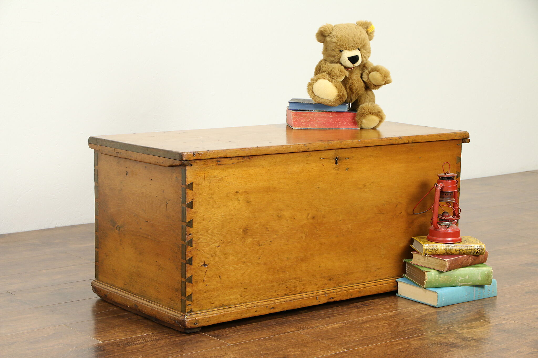Antique Trunk Or Blanket Chest
