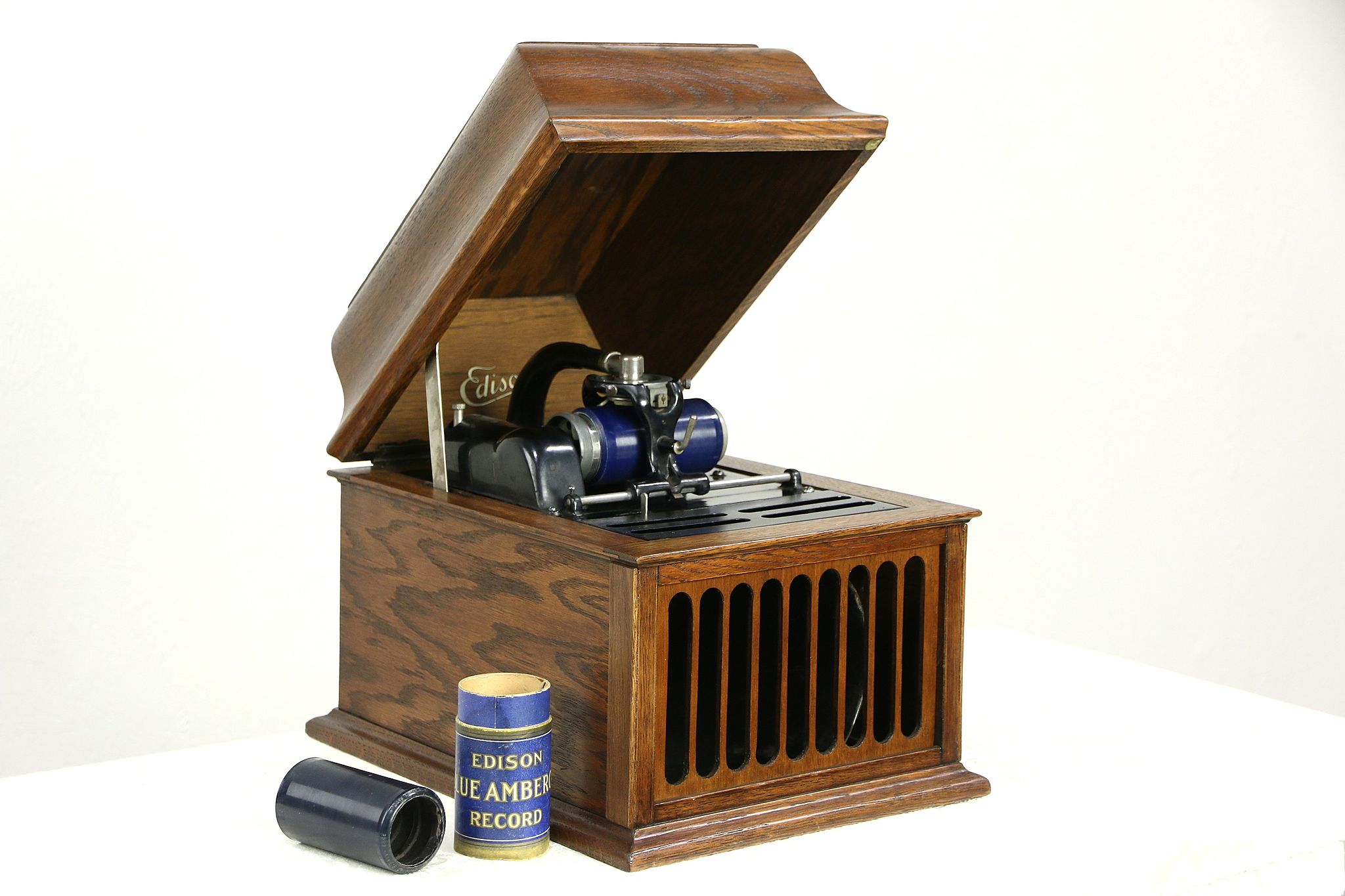 Sold Edison Oak Antique Amberola 30 Phonograph Tabletop